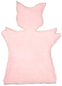 Сшивание двух половинок куклы-перчатки