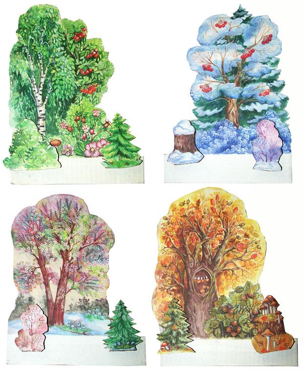 Декорации деревья своими руками
