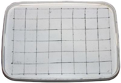 Мастер-класс «Шнуровальный планшет своими руками». Разлиновка планшета
