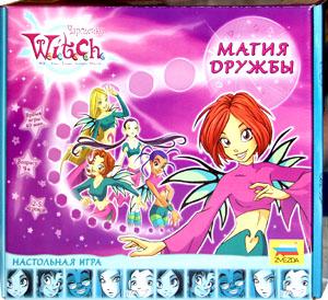 W.I.T.C.H. Чародейки. Магия дружбы – настольная игра для девочек