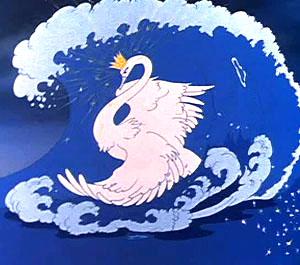 Лебедь из сказки пушкина 40