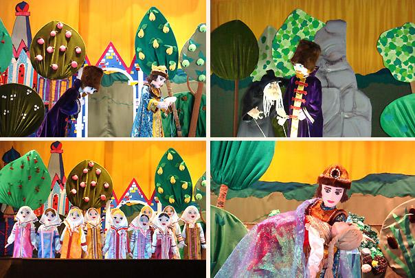 Кукольный театр сценарий своими руками