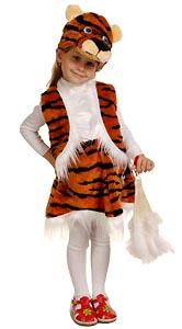 Новогодний костюм тигра. Стихи