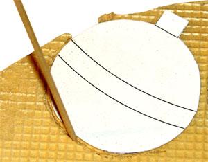 Как вырезать контур игрушки из вафли
