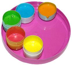 Краски-глазурь